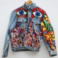Jacket (Eyes Crazy With Blues front)