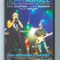 John Mayall 70th Birthday DVD (front)