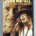 John Mayall DVD 'Godfather of British Blues' & 'Turning Point' (front)